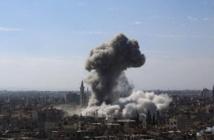Syrie les bombardements du régime près de Damas font 57 morts