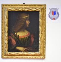 Un tableau attribué à Leonard de Vinci saisi en Suisse