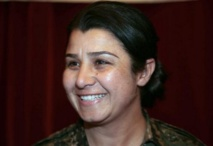 La Kurde syrienne Nassrin Abdallah
