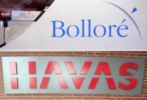 Bolloré annonce céder 17% du capital d'Havas dans un placement privé