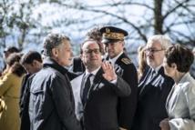 "A Izieu, Hollande met en garde contre le ""poison"" du ""repli"""