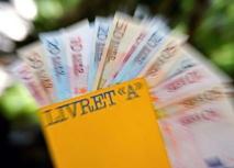 Livret A: la collecte redevient positive en mars avec 110 millions d'euros