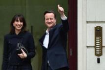 Cameron vers un deuxième mandat, triomphe des nationalistes écossais