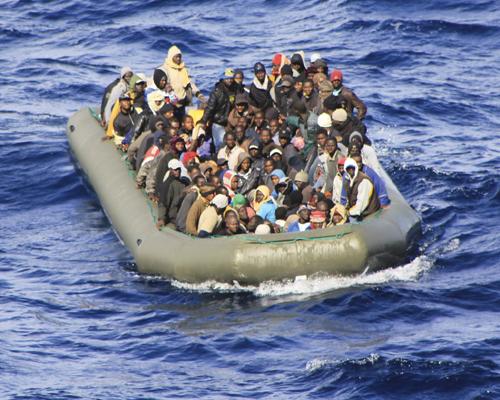Interception par les services de sauvetage espagnols de deux embarcations avec à bord 95 clandestins subsahariens