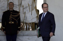 Espionnage: début du Conseil de défense autour de Hollande à l'Elysée