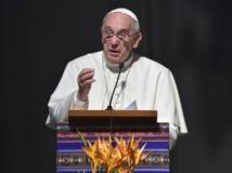 """Le pape demande la fin du """"génocide"""" des chrétiens au Moyen-Orient"""