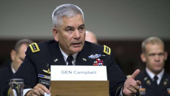 """Le général John Campbell est le commandant américain de la mission de l'Otan en Afghanistan. Il a avoué un bombardement """"par erreur"""""""