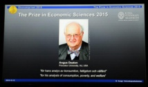 Angus Deaton prix Nobel d'économie pour ses recherches sur la pauvreté