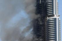 Dubaï enquête sur le spectaculaire incendie d'un hôtel de luxe en plein réveillon