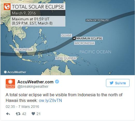 L'Indonésie prête pour une éclipse de soleil avec des touristes du monde entier