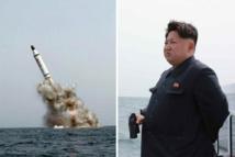 Tir de missiles balistiques nord-coréen dans la mer