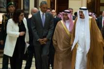 Obama en Arabie: lutter contre l'EI avec ses alliés du Golfe