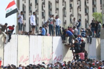 Irak: retrait des manifestants de la Zone verte de Bagdad