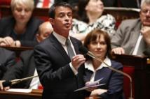 """Loi travail: Valls redit qu'il ira """"jusqu'au bout"""""""