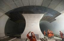 La Suisse inaugure le plus long tunnel ferroviaire au monde