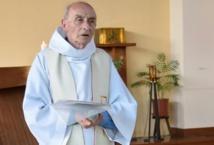 Obsèques du père Hamel à Rouen, une semaine après son assassinat
