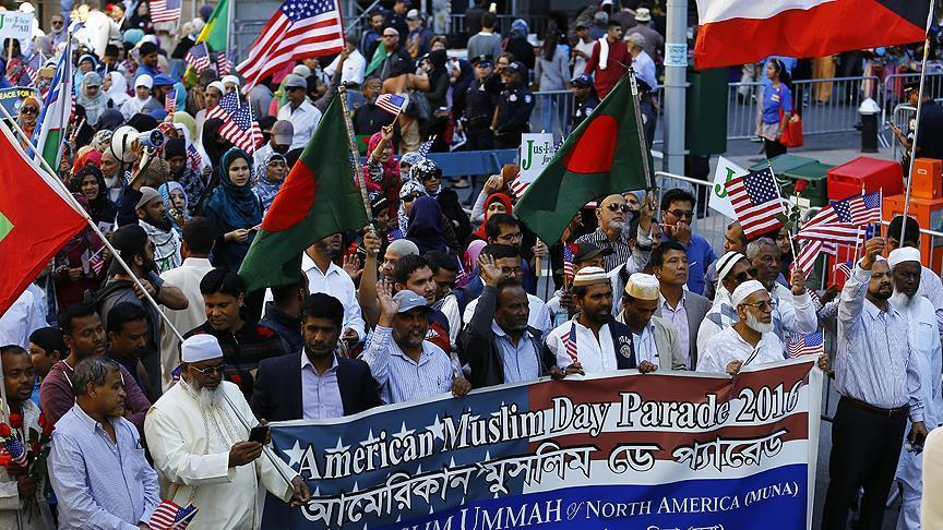 New York: Parade annuelle des musulmans américains