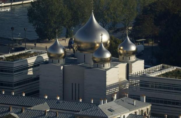 La Russie inaugure son centre orthodoxe à Paris sans Poutine