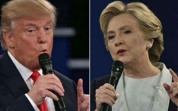 L'avance de Clinton sur Trump réduite à la marge d'erreur