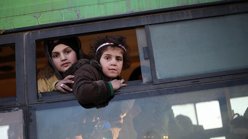Syrie : Arrivée à Idlib de 7500 personnes évacuées d'Alep
