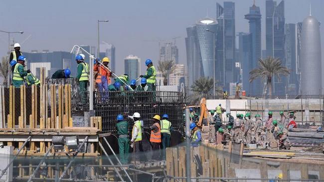 Qatar: un britannique trouve la mort sur le site d'un chantier du Mondial-2022