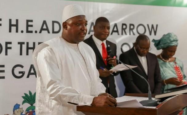 Gambie: Adama Barrow accuse Yahya Jammeh d'avoir vidé les caisses