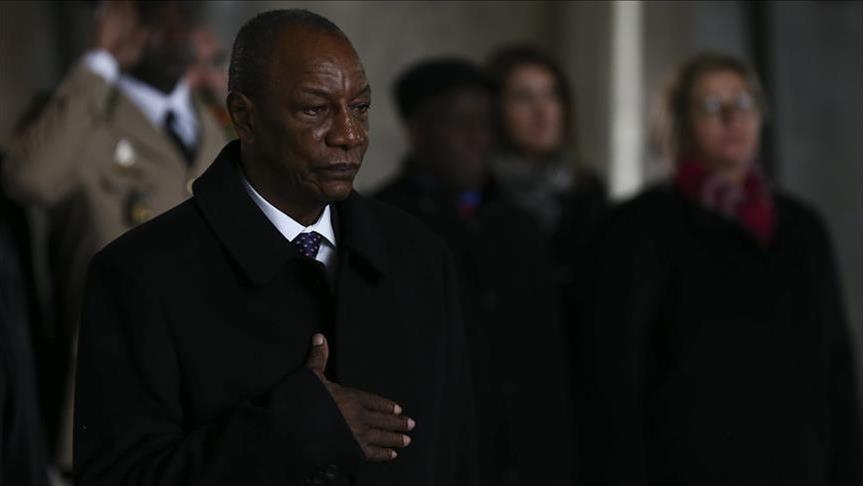 Le président guinéen élu à la tête de l'Union Africaine