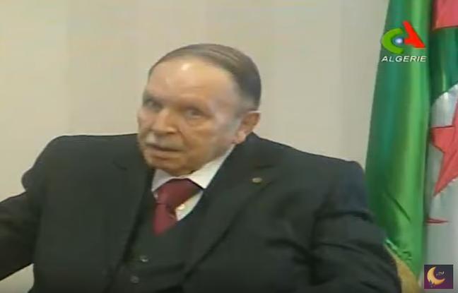Le président algérien apparaît dans une vidéo