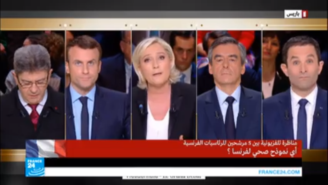 FRANCE 2017-Le Pen (27%) devance Macron (24%) et Fillon (18%)