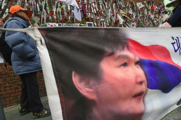 Corée du Sud: le parquet requiert l'arrestation de l'ex-présidente