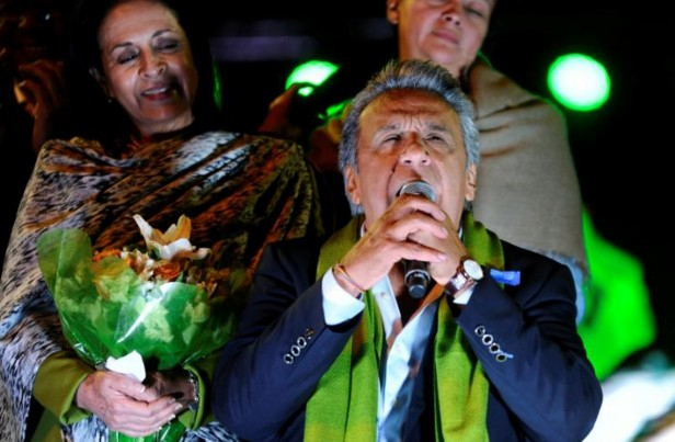 Présidentielle en Equateur: victoire du socialiste Moreno