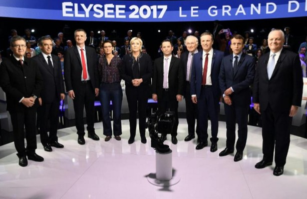 Présidentielle: 6,3 millions de personnes ont regardé le débat à 11