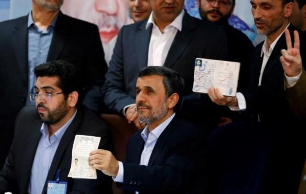 Iran: l'ex-président Ahmadinejad s'inscrit pour la présidentielle