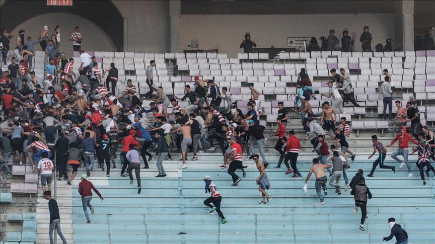 Tunisie : Dix policiers blessés lors d'un match de football