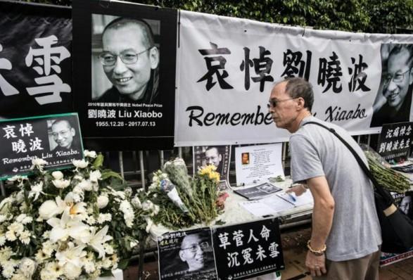 Les cendres du Nobel chinois Liu Xiaobo dispersées en mer