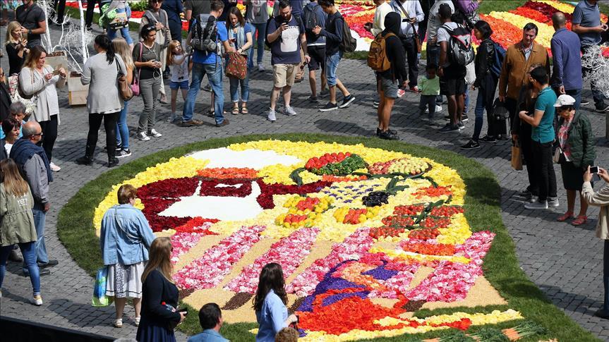 """Belgique : Bruxelles au """"temps des fleurs"""""""