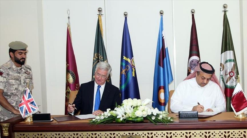 "Qatar/Royaume-Uni: Accord sur l'achat par Doha de 24 avions ""Typhoon"""