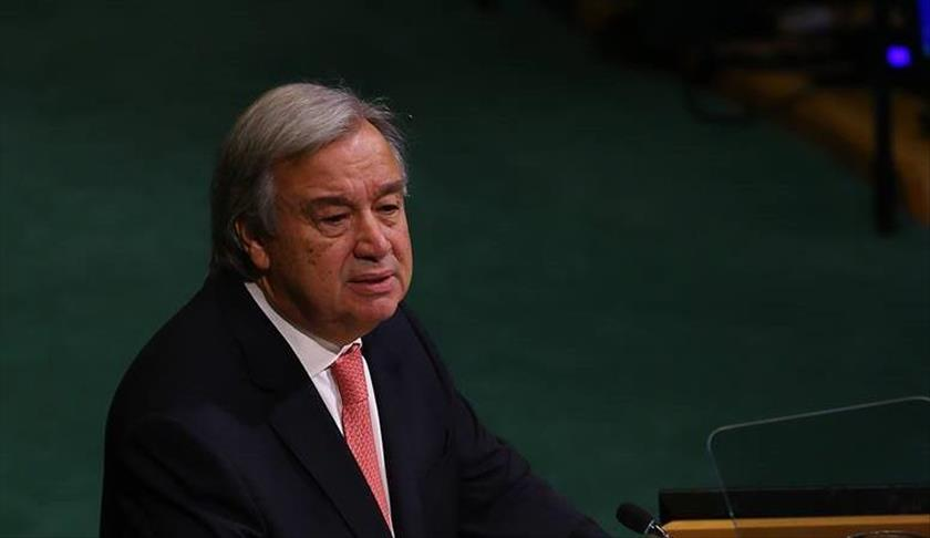Guterres: Menace nucléaire, terrorisme et conflits .. Dangers majeurs du monde actuel