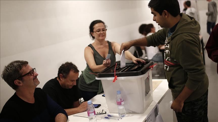 Gouvernement catalan : 90% de votes en faveur de la sécession