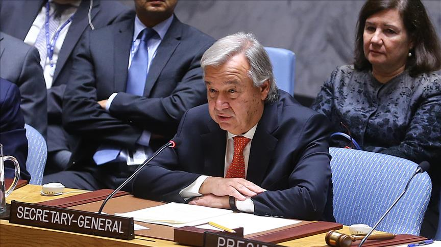 Cameroun/Crise anglophone: Le SG de l'ONU condamne les violences de dimanche