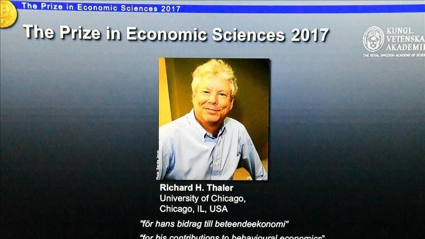 Le Prix Nobel de l'Economie 2017 décerné à l'américain Richard Thaler