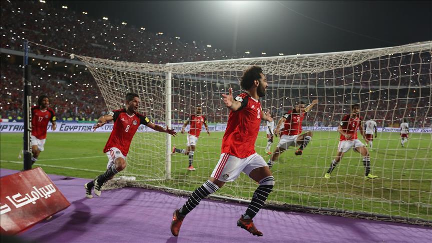 CM2018/Afrique-Gr.E- 5e J : L'Égypte valide son ticket pour le Mondial en disposant du Congo (2-1)