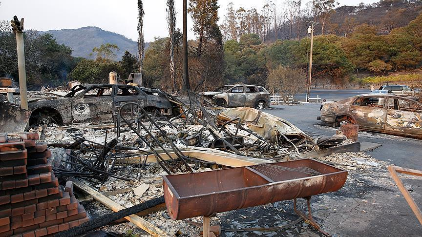 Incendies en Californie: Plus de un milliard de dollars de dégâts
