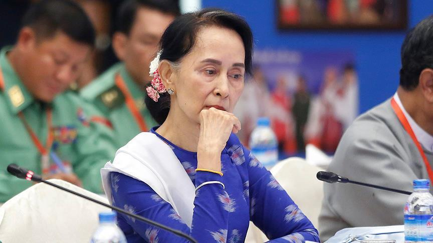 """La ville d'Oxford retire sa """"Médaille de la liberté"""" à la dirigeante du Myanmar"""