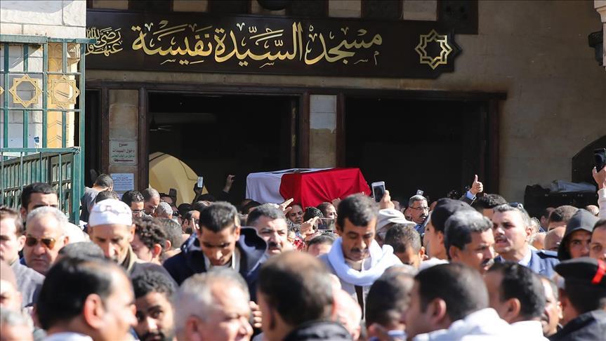 Egypte : Funérailles solennelles de l'artiste Shadia