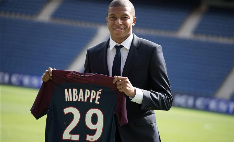 Mbappé: Jeune footballeur le mieux coté