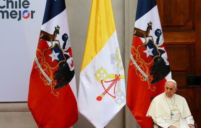 Le pape au Chili dit sa douleur et sa honte face à la pédophilie