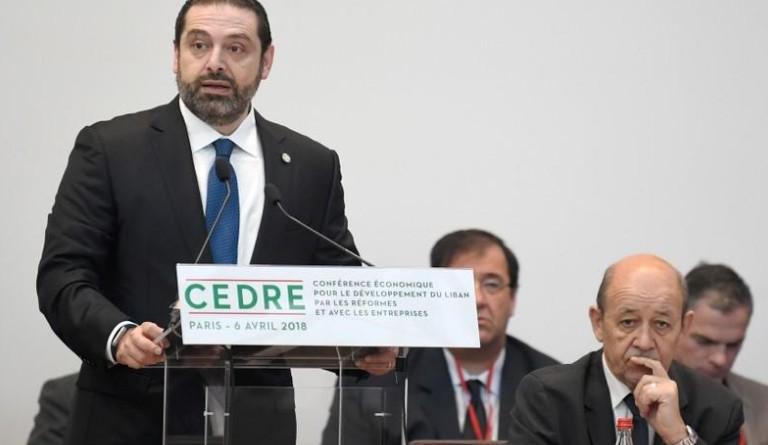 """Liban: Hariri demande un soutien financier international """"clair"""""""