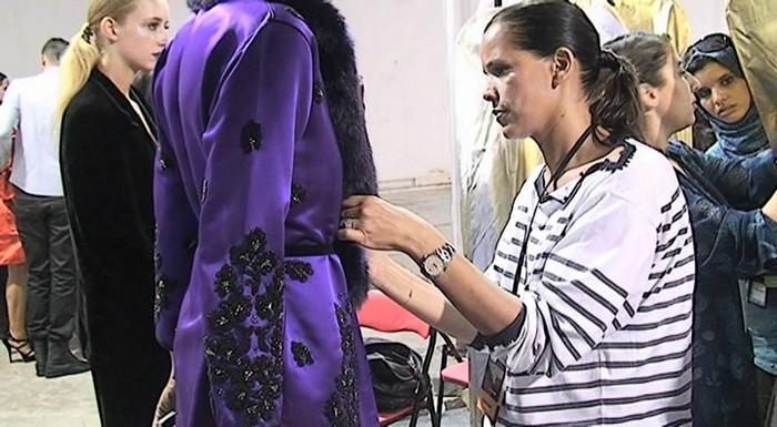 Défilé de mode de la styliste Fadila El Gadi, ou quand la broderie marocaine entre en symbiose avec celle du Panama
