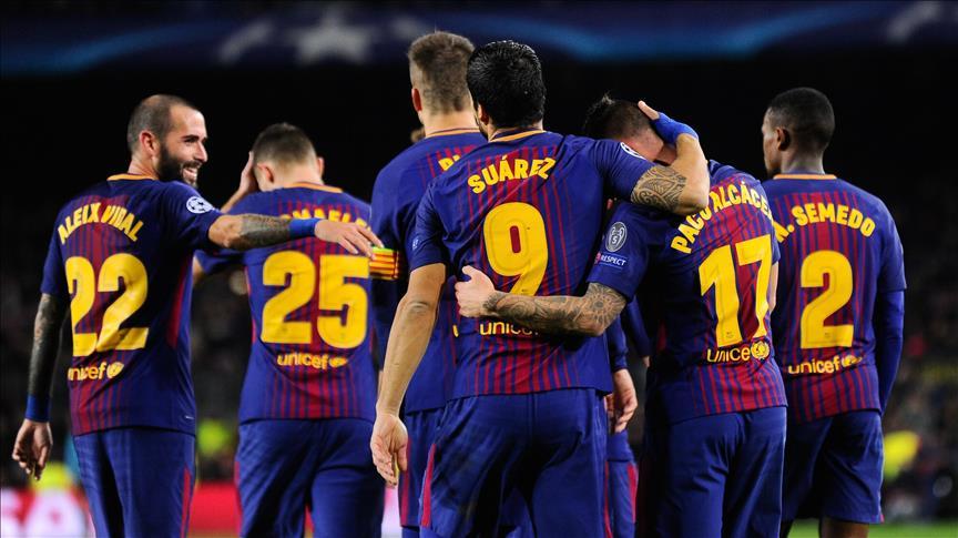 Foot / Espagne – 35ème j. : FC Barcelone champion d'Espagne après son succès à la Corogne (4-2)